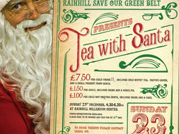Tea with Santa,Sun 23rd December 2018**SOLD OUT**