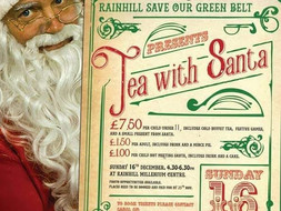 Tea with Santa,Sun 16th December 2018 **SOLD OUT**