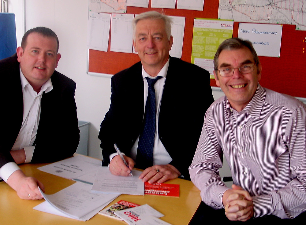 Rainhill Parish Councillors - Cllr. Barry Grunewald,  Cllr. Steve Glover,  Cllr. Joe DeAsha.
