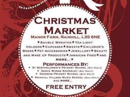 Rainhill Christmas Market.