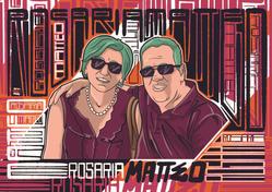 Ritratto digitale - Rosaria e Matteo