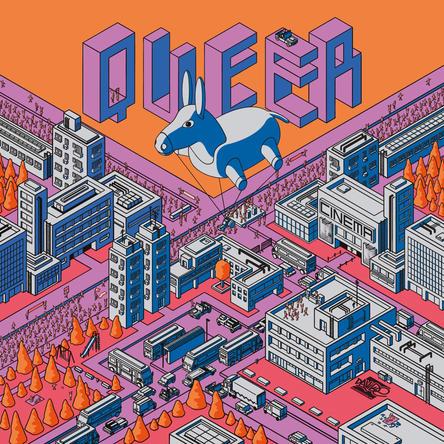 Illustrazione per copertina di BURRO Rivista #3 2021