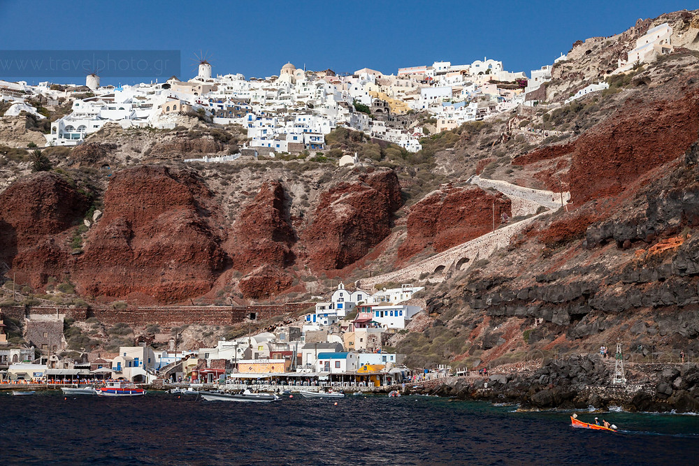 Ammoudi Bay in Santorini