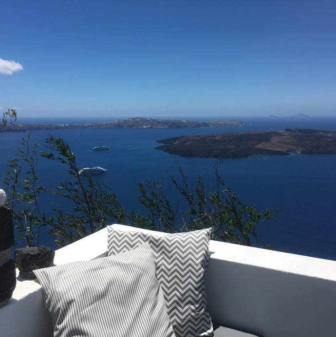 Unique caldera views