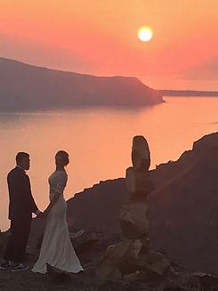 Private photoshooting in Santorini