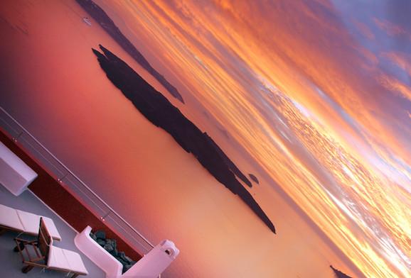 Santorini caldera magical views