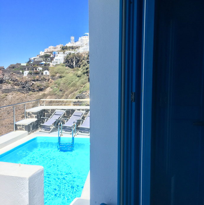 Room with a view in Imerovigli
