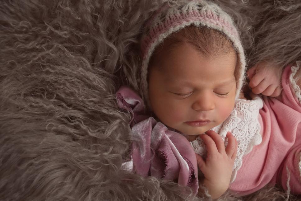 Downingtown newborn baby girl photography diana smyth photography