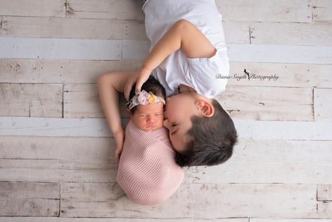 Newborn session montgomery county diana smyth photography