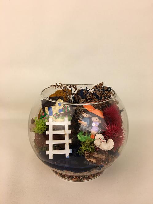 Huzurlu Yaşam Terrarium
