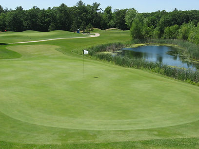 18-hole golf resort Foxfire Golf Club located near Chain O'Lake in Waupaca, WI