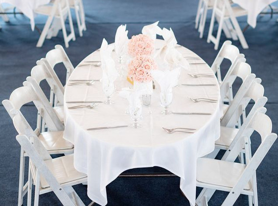 close up of table inside tent.JPG