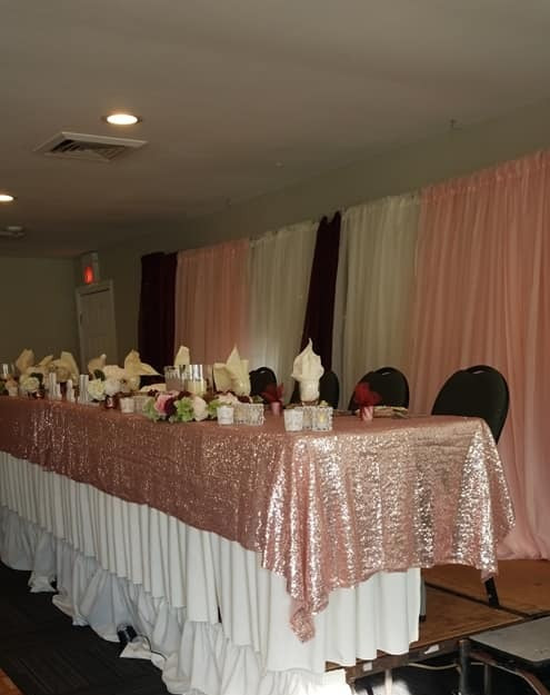 Fairway Room headtable
