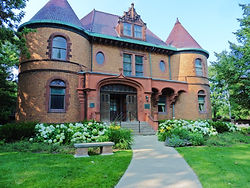 Dawes House in Evanston, IL is an example of a green renovation project at a historic building.