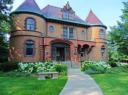 Dawes House in Evanston, IL is an example of geothermal heating and cooliing in a historic building.