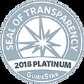 ILAS 2018 GuideStar Award