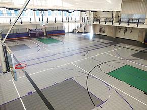 Greene County 2018 gym floor