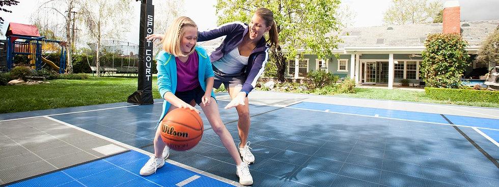 sport court backyard court