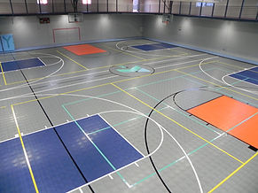 Sport Court gym flooring Creston Iowa