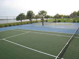 Sport Court outdoor surfacing Clear Lake Iowa