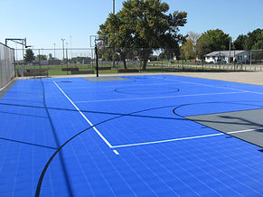Sport Court outdoor surfacing Laurens Iowa