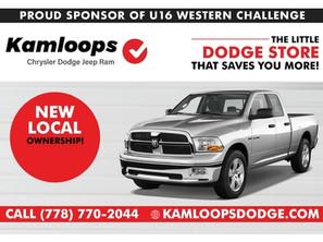 Kamloops Dodge Sponsor U16 Western Challenge