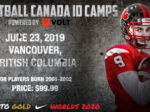 Football Canada ID Camps