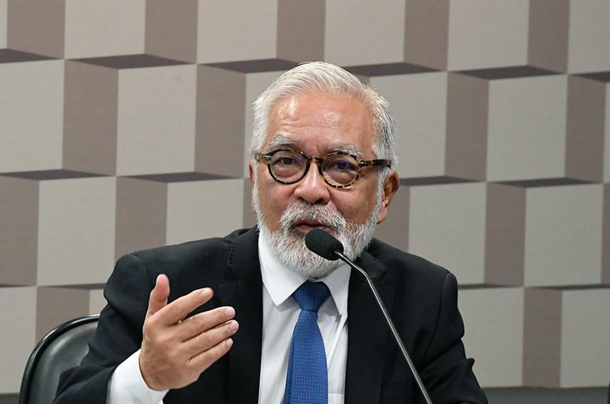 o secretário nacional de Habitação do Ministério do Desenvolvimento Regional, Celso Toshito Matsuda