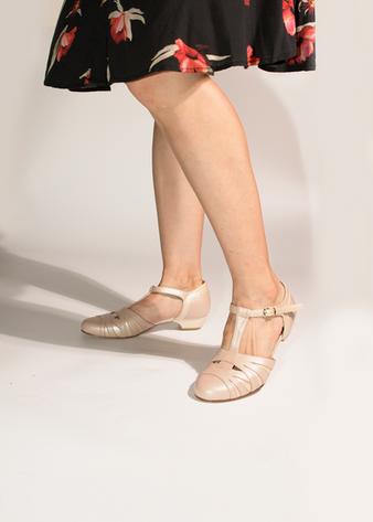 Empress, Beige Pearl(Y) 3cm heels