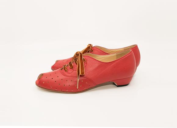 Emma(US9) 3cm - Vintage Red