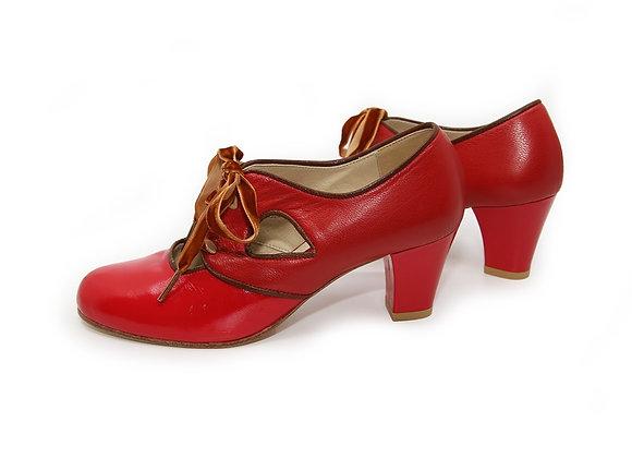 Greta(US6) 6cm - Red