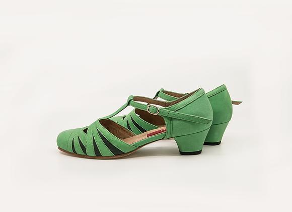 Empress(US8.5) 4cm - Pastel Green