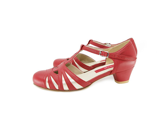 Empress(US7.5) 4cm - Red