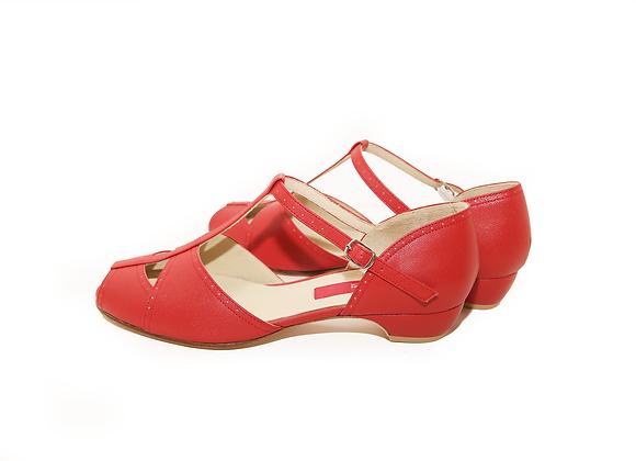 Bellar(US8.5) 3cm - Red