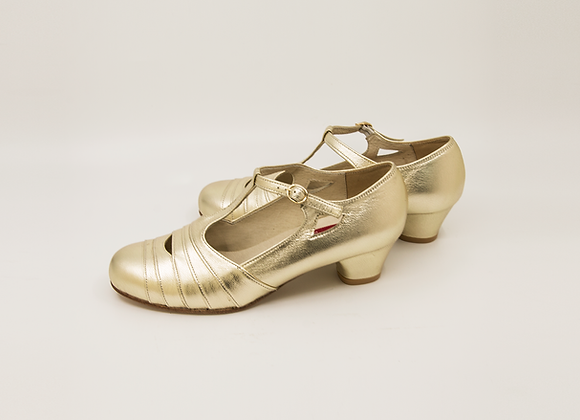 Glinda - Pale Gold(US6 W, 4cm)