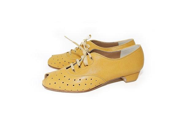 Emma(US7.5) 3cm - Mustard