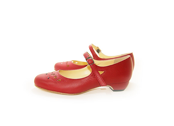Lily(US8.5) 3cm - Red