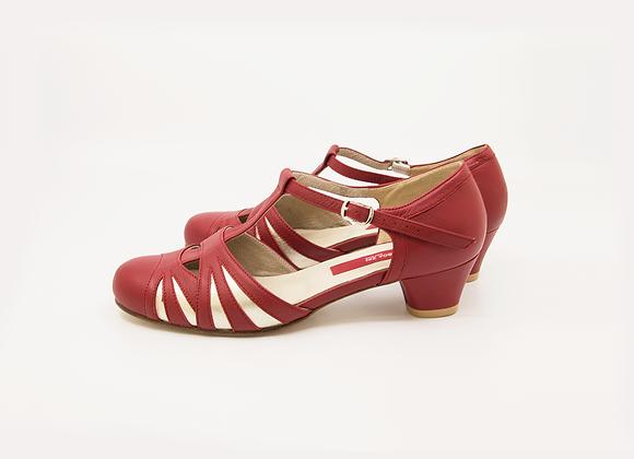 Empress(US7.5) 4cm - Red