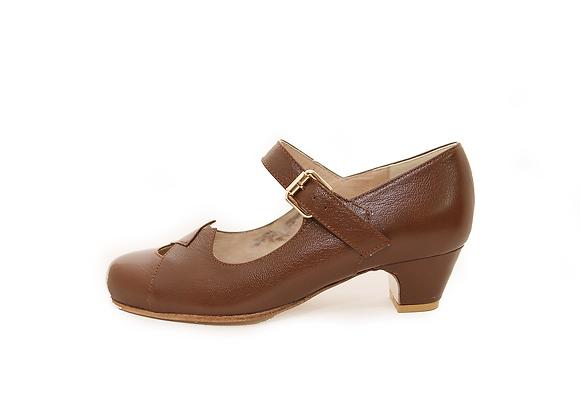 CoLIZ - Brown with low heels