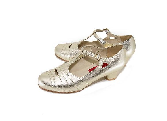 Glinda(US6W) 4cm - Pale Gold