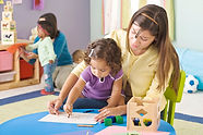 play to learn therapy works on fine motor skills with the clients
