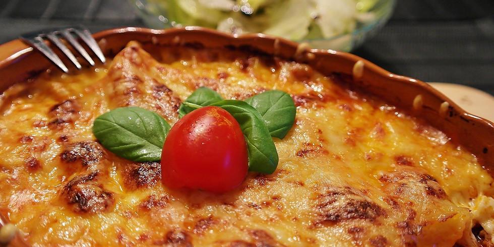 Lasagna Take-Out Dinner