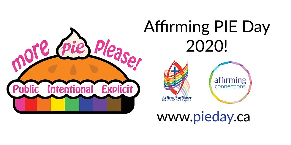 Affirming PIE Day 2020