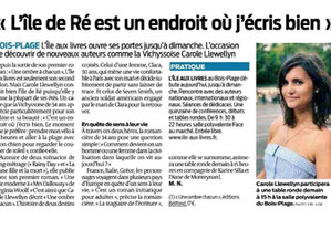 """Une Belle Interview dans """"Sud Ouest"""""""