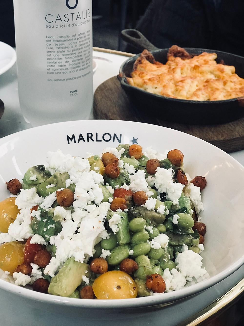 La food délicieuse du Marlon