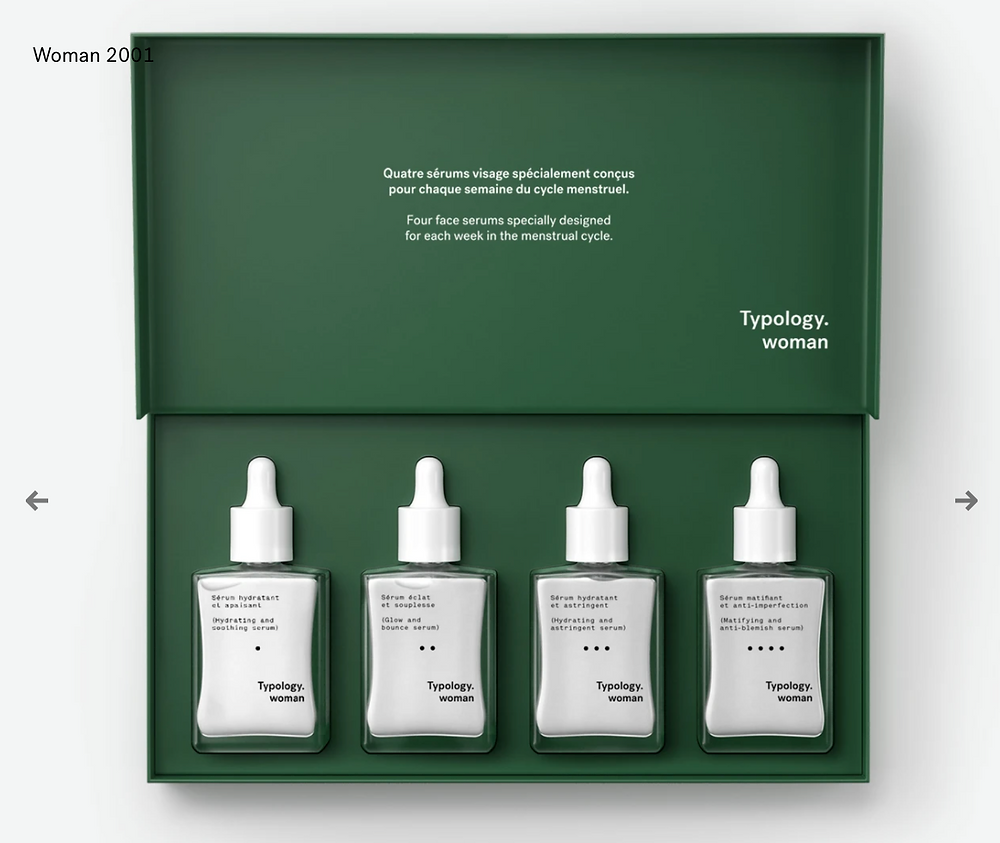 coffret woman sérum typology