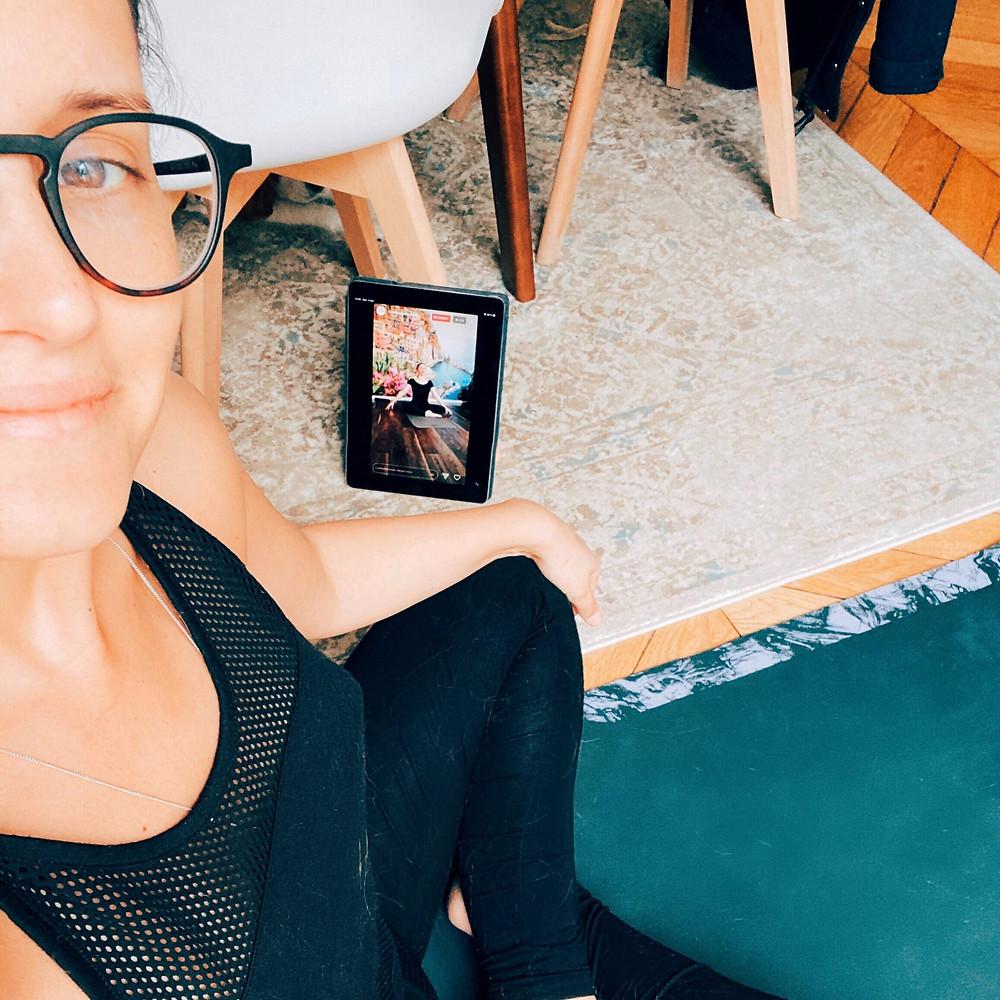 cours de yoga en ligne