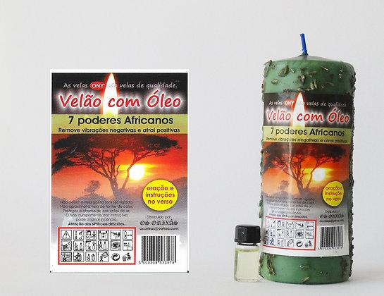 Velão com óleo 7 poderes Africanos