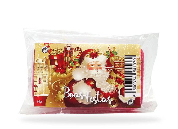 Sabonete de Natal - Pai Natal