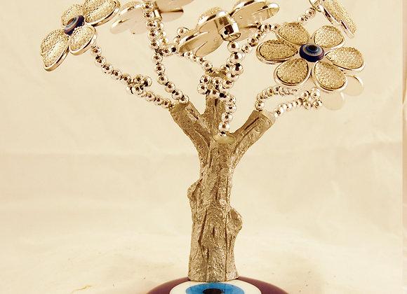 Árvore com olhos turcos